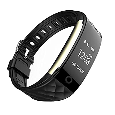 Dragon Hub Smart Bracelet Health Fitness Tracker Heart Rate Sleep Monitor Waterproof Swimming Sports Smart Wristband Pedometer Smart Bracelet Bluetooth Smart Watch For Android IOS