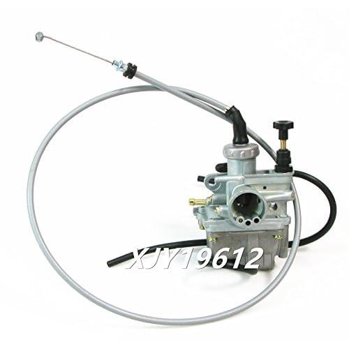 85%OFF Carburetor & Throttle Cable Fits Suzuki Quadsport 80