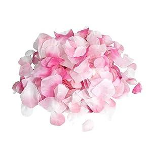 Ellami 1000pc Silk Rose Petals Wedding Flowers Favors 18