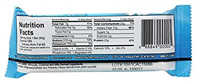 Quest Nutrition - Quest Bar Protein Bar Cookies & Cream