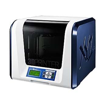 """da Vinci Jr. 1.0 3in1 Wireless 3D Printer/3D Scanner/Upgradable Laser Engraver ~ 6"""" x 6"""" x 6"""" Built Volume (Fully Enclosed Design for PLA/Tough PLA/PETG)"""