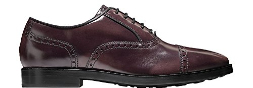 Cole Haan Mens Hamilton Grand Cap Oxford Cordovan Box In Pelle