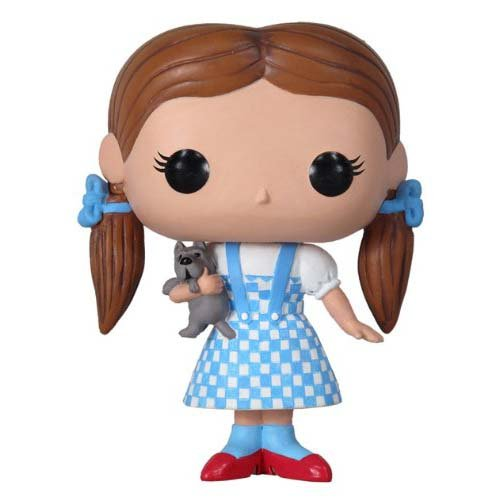 Funko Pop Movies Wizard of Oz Dorothy and Toto Vinyl Figure (Dorothy In Wizard Of Oz)