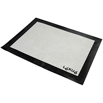 Amazon Com Lekue 12 By 16 Inch Silicone Baking Mat Clear