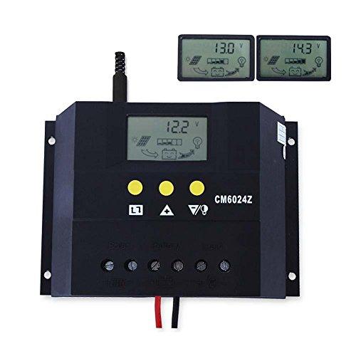 Sun YOBA Solar Charge Controller Solar Controller 60A 12V 24V CM6024Z