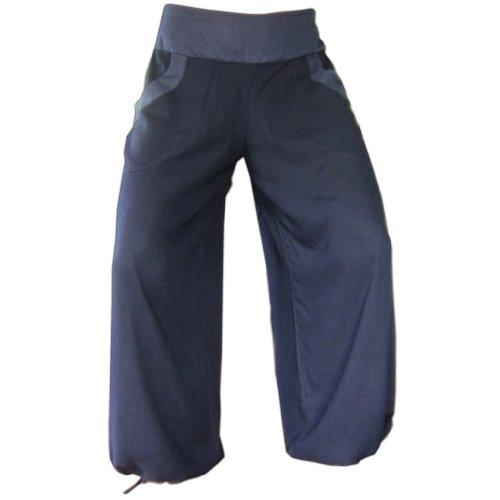Plástico Fina Pagan Solo Azul Boutique nbsp;– Pequeñas Toda Aquí nbsp;fregadero Pantalones Ware Panasiam 4OdwqXYX