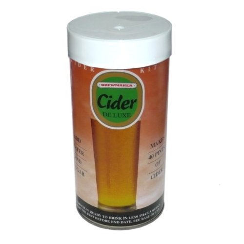 Brewmaker Cider Deluxe Kit Muntons B004LZSF02