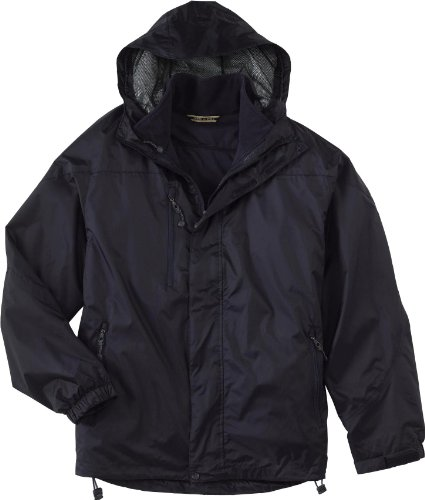 North End Mens Techno Performance 3-In-1 Waterproof Jacket. 88120 - - Performance End North Techno