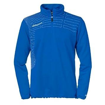 Uhlsport Pullover Match 1/4 Zip Top - Sudadera de fútbol para Mujer, Color Azul, Talla XS: Amazon.es: Deportes y aire libre