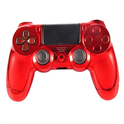 Wireless Controller Plating Full Shell Case For Sony PS4 Gaming Console Replacement Controller Case by Heaven Trainn