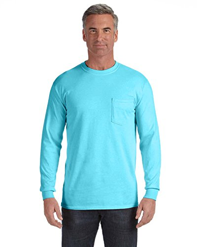 Comfort Colors 6.1 Oz. Long-Sleeve Pocket T-Shirt