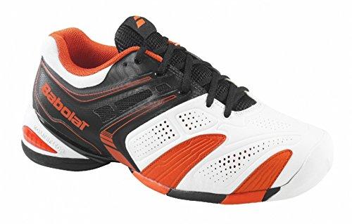 Zapatillas De Tenis V Pro 2 Ac Para Hombre Blanco / Naranja Talla 40.5