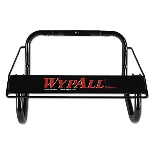 Jumbo Roll Rags - WypAll 80579 Jumbo Roll Dispenser, 16 4/5w x 8 4/5d x 10 4/5h, Black