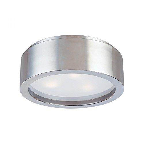 (Sonneman 3721-13 Three Light Surface Mount, Silver)