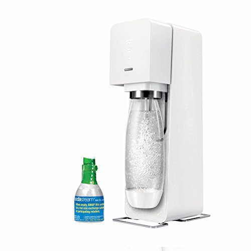 SodaStream Source Sparkling Water Maker Starter Kit, White