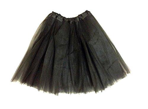[Rush Dance Men's Costume Ballet Warrior Dash Run Tutu (Adult, Black)] (Plus Size Ballerina Costumes)