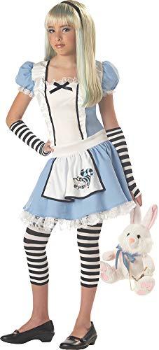 SALES4YA Girls Alice Tween Costume Large 10-12 Girls -