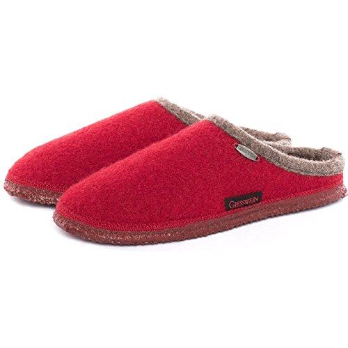 Estar Mujer Giesswein Para Zapatillas Casa Cerezas Rojo De Por SwHEwTq