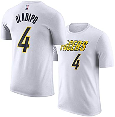 XXHDYR Camiseta de Manga Corta para el Jugador de Baloncesto Oladi ...