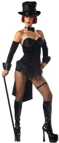 California Costumes Sexy Ring Master adult costume - Black, Large