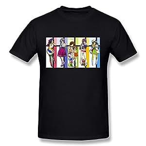 Hsuail Men's Clannad Ushio T-Shirt Black US Size XS