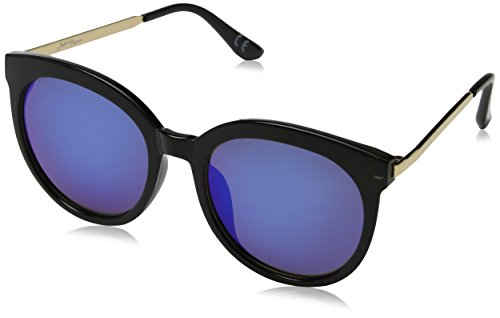 1812 JP Mujer Gafas de Peepers Negro Black Sol Jeepers Blue 60 revo para EaR0qxw