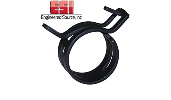 100 Pieces CTB-40 Constant Tension Band Hose Clamp