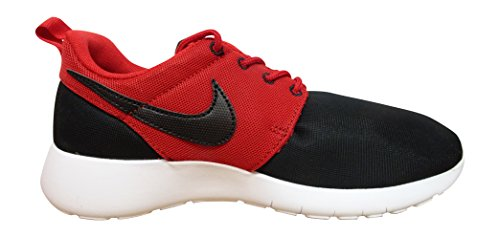 white Niños Black Nike gs Running Roshe Blanco Red Zapatillas gym black Rojo Negro De One qYxaf4Y6