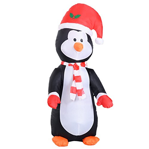 2' Bouncy Ball (Christmas Xmas Penguin 4 Ft Airblown Inflatable Decor Lighted Lawn Yard Outdoor)