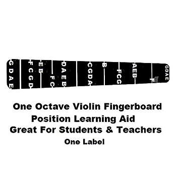 1 Violin Fiddle Griffbrett Fret Guide Label Finger Diagramm 4/4 ...