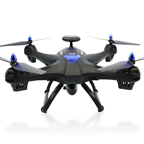 New Global Drone X183 With 5GHz WiFi FPV 1080P Camera GPS Brushless Quadcopter,Nacome (Black)