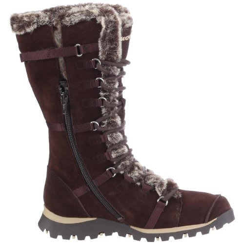 Skechers Bottes Jams Grand brs Unlimited Marron Femme ztrzFwq