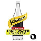 Schweppes Slimline Tonic with Zest of Lemon - 1L (33.81fl oz)