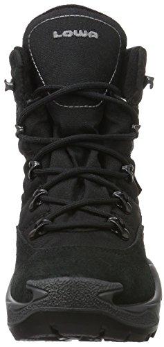 Lowa Rufus III GTX Hi, Zapatillas de Senderismo Unisex Niños Negro (Schwarz/grau Black/grey)