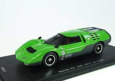 1 43 Mazda Rx-500 1St 1970 Coloreees verde Importado De Japón Nuevo