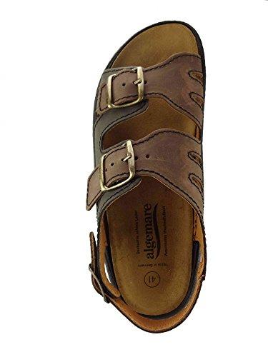 4131 Größe 7691 kork Sandale Waschbares 43 Deutschland Wechselfußbett Herstellung Algen Algemare Nubuk Sandalette In gqZHnF
