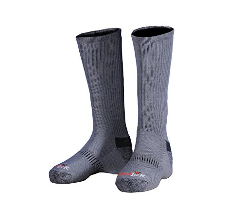 ElimiTick Long Boot Sock by Gamehide (Carbon, Large)