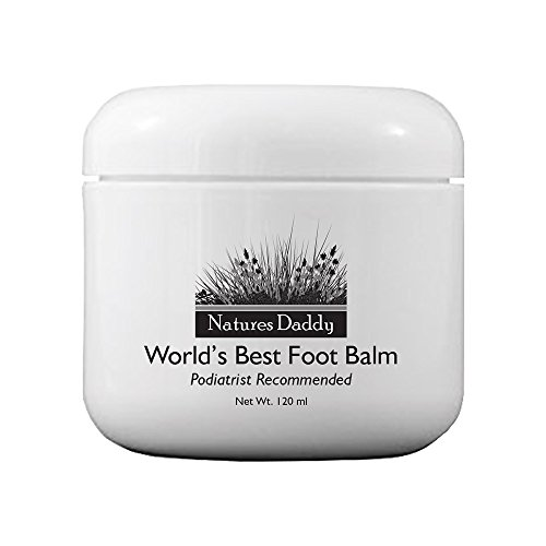 Natures Daddy World's Best Foot Balm - 4 oz Overnight Itch Relief Cream