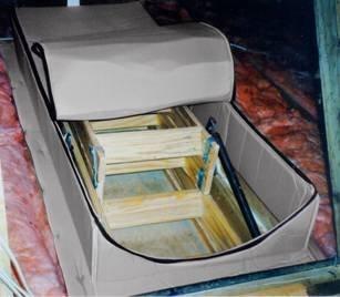 Dachboden Zelt-AT-x Dachboden Bezug Isolator 81,3 x 205,7 cm passend für alle erhältlich Dachboden Türen von insulsure INC.