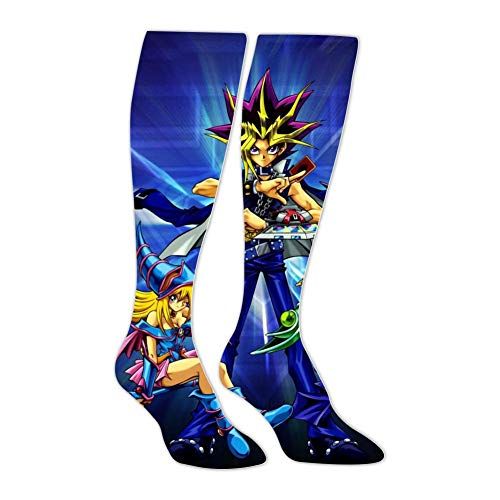 Crew Socks Yu-Gi-Oh Printed Colorful Knee-High Socks Compression Socks