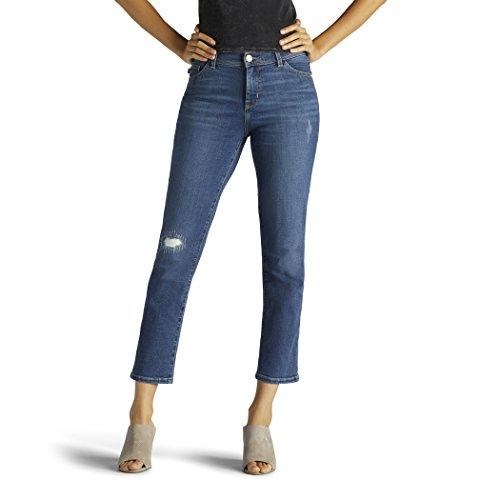 LEE Women's Slimming Fit Kyla Capri Jean, Evolve, 14 by LEE