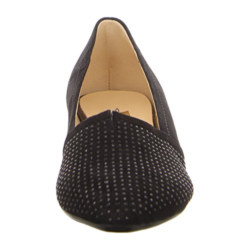 AZALEA GABOR LOW HEEL COURT 6 NAVY MLT64pU