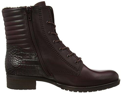 Gabor Comfort Basic - botas de cuero mujer rojo - Rot (wine/vino (Effekt) 75)