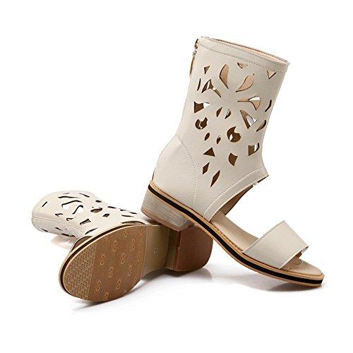 Adee - Sandalias de vestir para mujer Beige