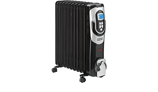 Amazon.com: AEG RA-5589 Oil Radiator 2200W 11 Column Heater with Wheels: Kitchen & Dining