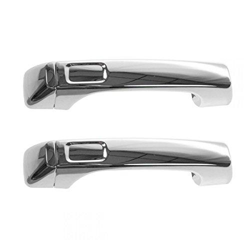 hummer h3 door handle chrome - 9