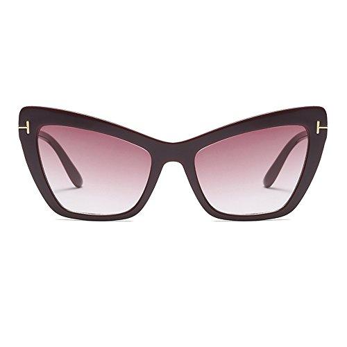 FAGUMA Oversized Cat Eye Sunglasses For Women Fashion Designer Shades