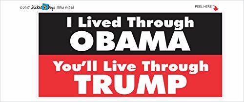 I-Lived-thru-Obama-Trump-Political-Bumper-Sticker