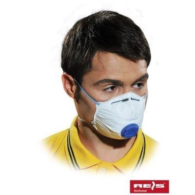 10x Atemschutz Staubschutzmaske Maske mit Ventil FFP2