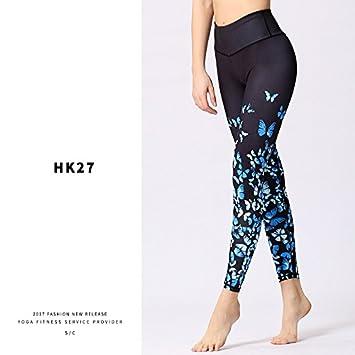 JIALELE Pantalon Yoga La Ropa De La Aptitud del Yoga Sello ...